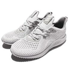 adidas Alphabounce AMS M Aramis White Grey Men Running Shoes Sneakers BW0427