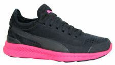 Puma Ignite Sock Knit Lace Up Black Pink Womens Trainers Shoes 360571 05 P2