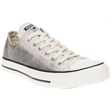New Womens Converse Grey Multi All Star Ox Canvas Trainers Lace Up