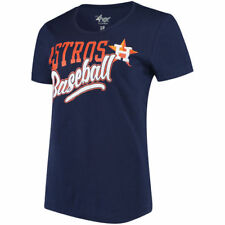 G-III 4Her by Carl Banks Houston Astros Women's Navy Endzone Fashion T-Shirt