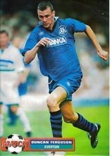 MATCH football magazine retro player picture / poster Everton - VARIOUS (Lot 01)