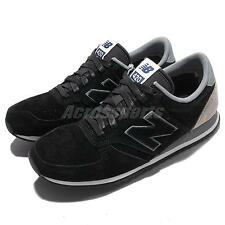 New Balance U420PPY D Black Grey Suede Mens Retro Running Shoes U420PPYD