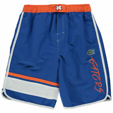 Florida Gators Youth Royal Color Block Swim Trunks - College
