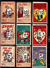 Funny Greetings A&BC Gum 1961..... JUST PICK THE CARDS NEEDED