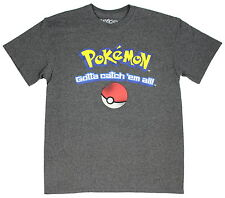 Pokemon Gotta Catch 'Em All Graphic Go Game Anime Short Sleeve T-Shirt