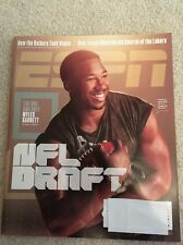 ESPN MAGAZINE April 24, 2017 NFL DRAFT The One And Only Myles Garrett Has Label
