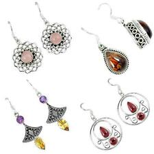 Collector`s edition dangle 925 silver earrings jewelry by jewelexi 4966A