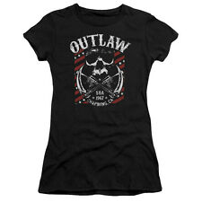 Sons Of Anarchy Outlaw Juniors Short Sleeve Shirt