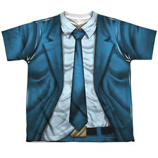 Quantum And Woody Woody Uniform Big Boys Youth Sublimation Polyester Shirt White