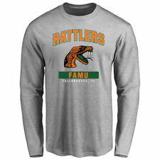 Florida A&M Rattlers Ash Big & Tall Campus Icon Long Sleeve T-Shirt