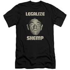 Three Stooges Legalize Shemp Mens Slim Fit Shirt