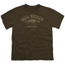Back To The Future Iii Hill Valley 1885 Big Boys Youth Shirt