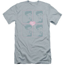 I Love Lucy Lucy Squared Mens Premium Slim Fit Shirt