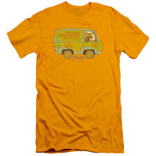 Scooby Doo The Mystery Machine Mens Slim Fit Shirt