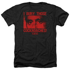 Scarface Cockroaches Mens Heather Shirt Black
