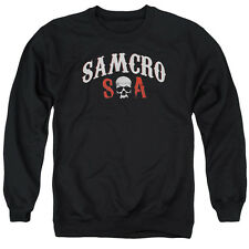 Sons Of Anarchy Samcro Forever Mens Crewneck Sweatshirt Black
