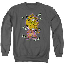 Scooby Doo Being Watched Mens Crew Neck Sweatshirt