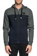 Mossimo Men's Western Cotton Poly Quilted Zip Thru Hoody Carbon BNWT 30% OFF