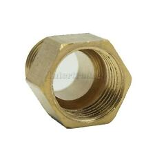 Solid Brass Barbed Double End Straight Threaded Fitting Coupler Connector Joint
