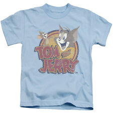 Tom And Jerry Water Damaged Little Boys Juvy Shirt