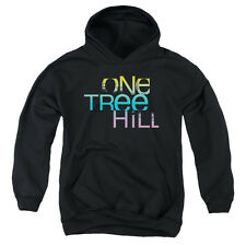 One Tree Hill Color Blend Logo Big Boys Youth Pullover Hoodie BLACK