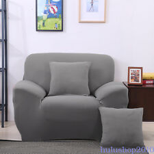 Stretch Chair Sofa Cover Nonskid Elastic for 1/2/3 Seater Slip Protector Towel