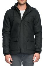 Elwood Men's Trentville Hooded Duffle Jacket Charcoal Marle BNWT 30% OFF