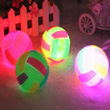 LED Change Color Flashing Light Volleyball Football Bouncing Vocal Toy Kid Child