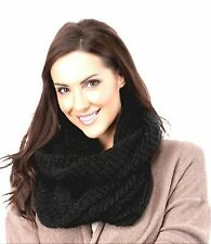 Ladies Big Knitted Winter Snood 4 Colours to Choose