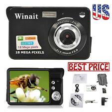 18MP CMOS 2.7 inch TFT LCD Screen HD 720P Digital Camera Video Camcorder Set US