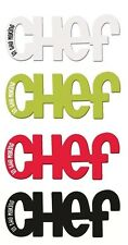 Magnetic Kitchen Word Fridge Magnet Chef In The Making Splosh Home Gifts