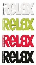 Magnetic Kitchen Word Fridge Magnet Relax With Friends & Family Splosh Home Gift