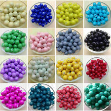 Fashion Glass Pearl Round Spacer Loose Beads 4 mm/6mm/ 8mm/10mm A