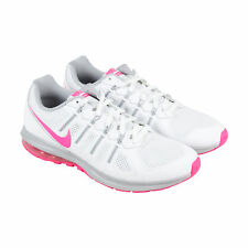 Nike Nike Air Max Dynasty Womens White Mesh Athletic Lace Up Running Shoes