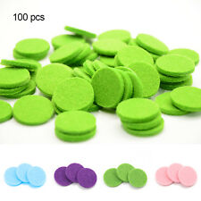 Aromatherapy Essential Perfume Diffuser Locket Necklace Refill Pad Replacement