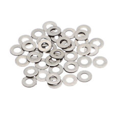 MagiDeal Stainless Steel Flat Washers Assortment Steel Washer Set of 100pcs