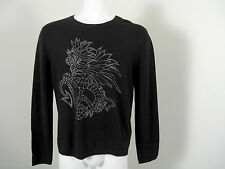 NEW! Neiman Marcus Mens Cashmere Sweater!  4 Colors & Modern Designs  *Slim Fit*