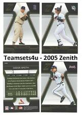 2005 Zenith Baseball Set ** Pick Your Team **