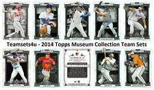 2014 Topps Museum Collection Baseball Set ** Pick Your Team **