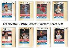 1976 Hostess Twinkies w/ Stains Baseball Set ** Pick Your Team **