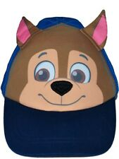 Boys Blue & Taupe PAW PATROL CHARACTER FACE Cap / Sun Hat    1-3 yrs   4-6  yrs
