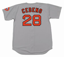 CESAR CEDENO Houston Astros 1971 Majestic Cooperstown Away Baseball Jersey