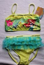GIRLS DISNEY STORE SIZE 9-10  ARIEL LITTLE MERMAID TWO-PIECE SWIMSUIT NWT