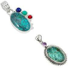 925 sterling silver shattuckite pendant jewelry by jewelexi 2952B