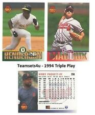 1994 Triple Play Baseball Set ** Pick Your Team **