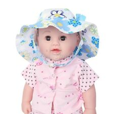 Toddler Infant Baby Girls Outdoor Hat Summer Sun Beach Floral & Bowknot Cap