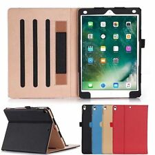 PU Leather Multi-Angle Stand Wallet Case Cover For Apple New Ipad 10.5 2017+Film