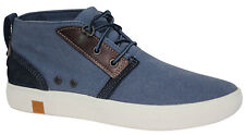 Timberland Amherst Chukka Vintage Mens Boots Lace Up Shoes Blue A17O9 U32