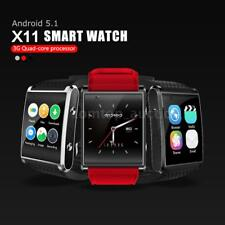 New X11 Smart Wristband 3G/2G Phone Activity Tracker GPS Support Nano Card 4GB