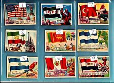 Flags of the World small version A&BC Gum 99P EACH JUST PICK THE CARDS NEEDED